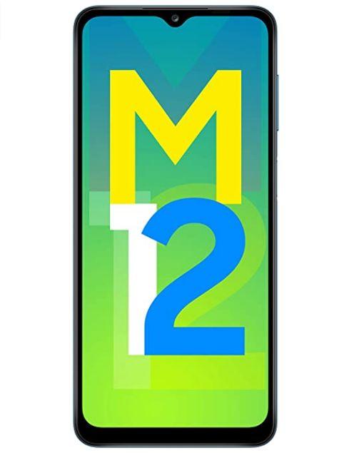 Samsung Galaxy M12 (Blue,4GB RAM, 64GB Storage)